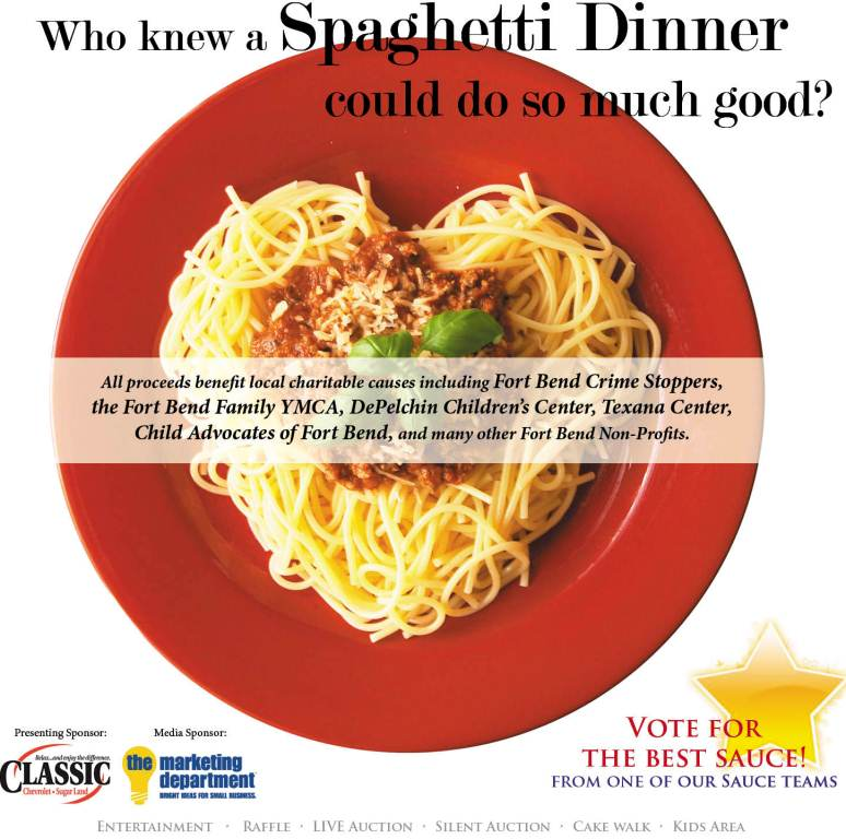 Upcoming Event – Exchange Club of Sugar Land Spaghetti Dinner/ Cook-Off | Fluor Daniel