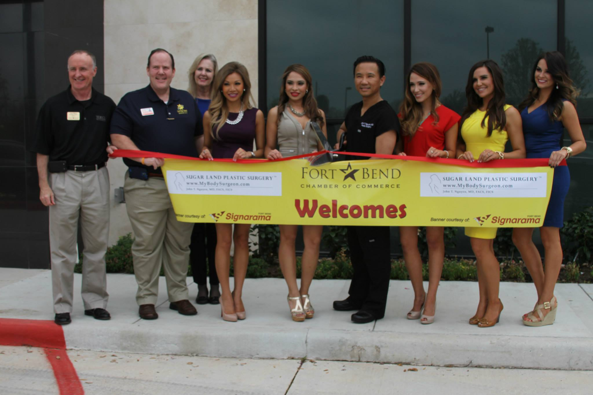 Grand Opening Celebration of Sugar Land Plastic Surgery
