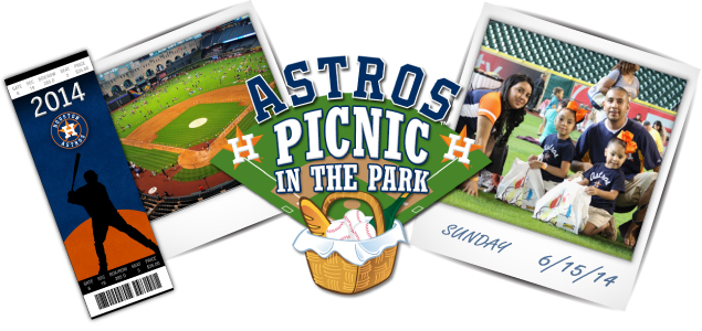 Houston Astros Picnic at the Park Event at Minute Maid Park