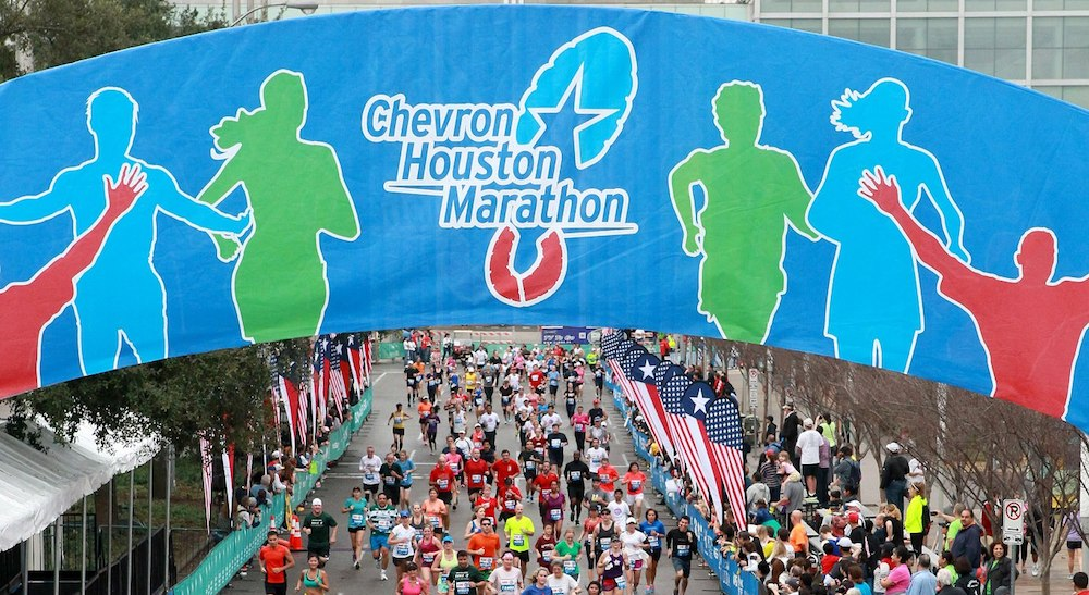 Chevron Houston Marathon Expo at George R. Brown Convention Center