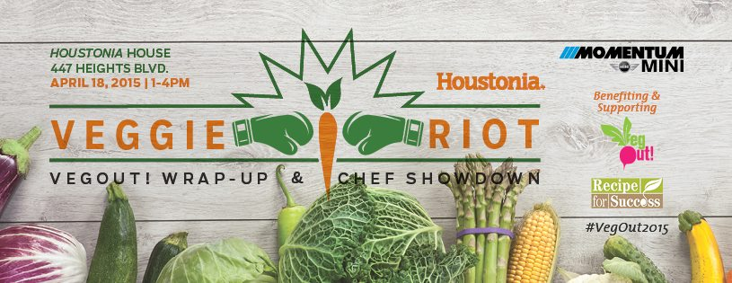 Houstonia Magazine's + Recipe for Success #VegFest2015