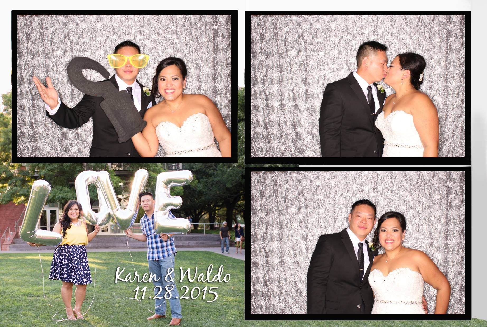Karen & Waldo Wedding Celebration at Lakeside Country Club | Houston Photo Booth Rental