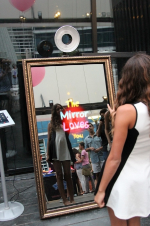 Lucky Mirror, Houston Magic Mirror Powered by Lucky Shots