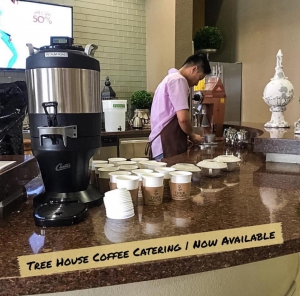 Houston Coffee Catering provided by Tree House Craft Coffee and Frozen Yogurt